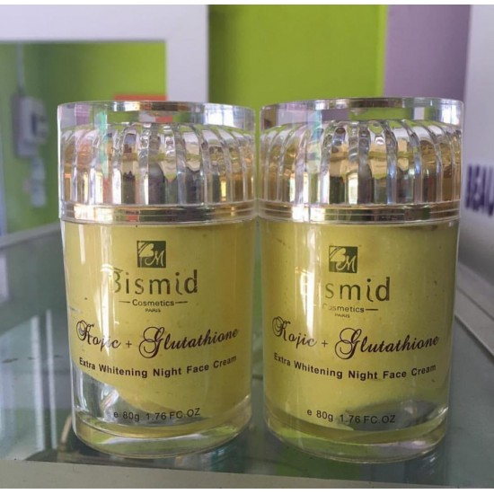 BISMID KOJIC AND GLUTATHIONE FACE CREAM