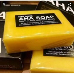 3X MINI WHITE AHA SOAP