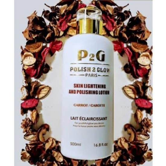 P2G POLISH 2 GLOW PARIS LOTION