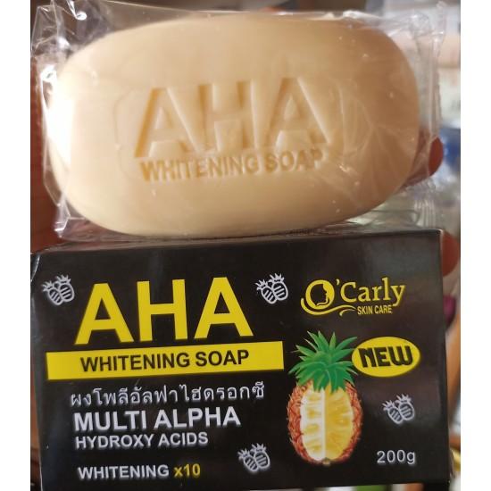 O'CARLY AHA  WHITENING SOAP